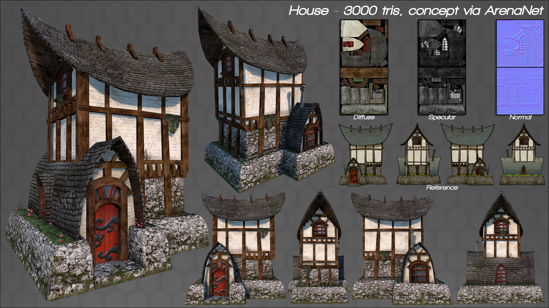 House Modeling Business Origami Our Business Origami Modeling For A Kirk Williford 3d